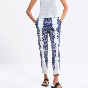 Printed Chino pants